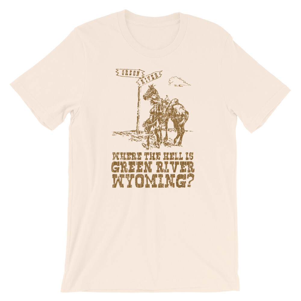 Where the hell is Green River Wyoming Vintage T-Shirt