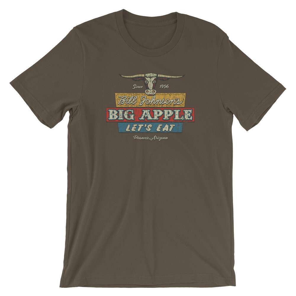 Bill Johnson's Red Apple Restaurant Vintage Cowboy T-Shirt