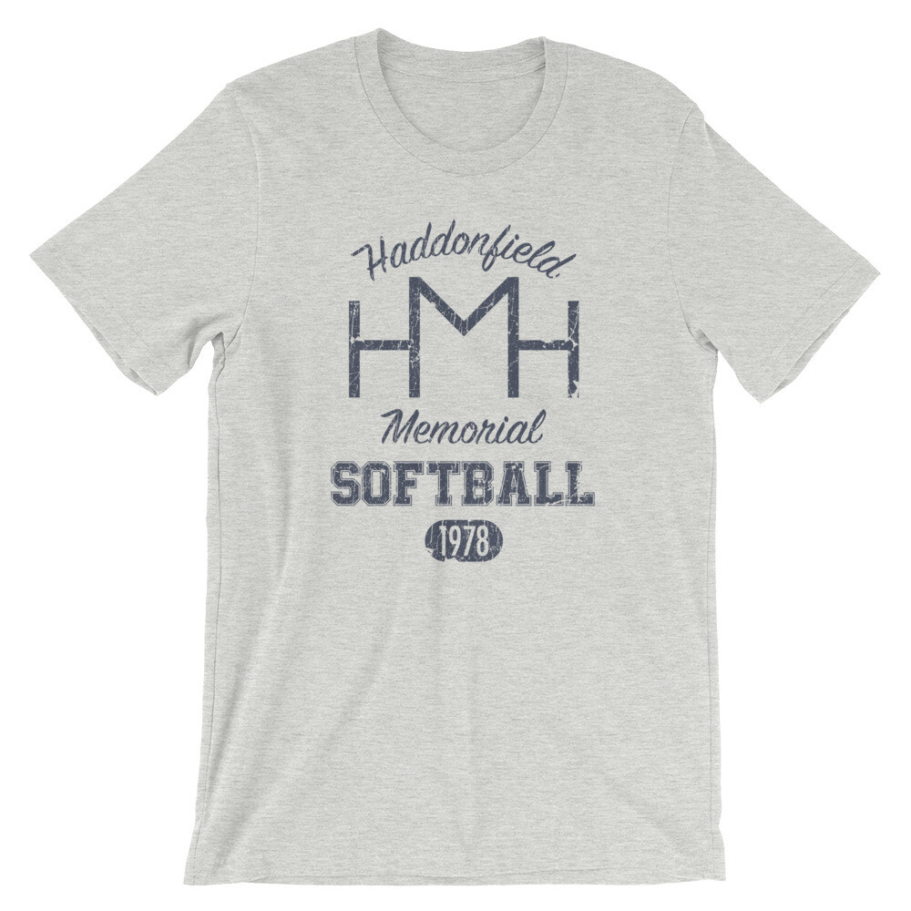 Haddonfield Memorial Softball Team Light Vintage T-Shirt