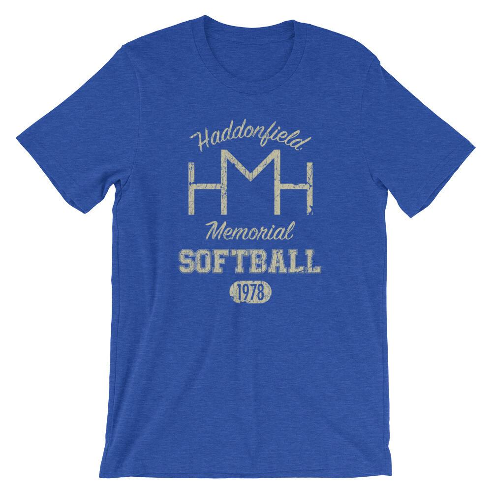 Haddonfield Memorial Softball Team Dark Vintage T-Shirt