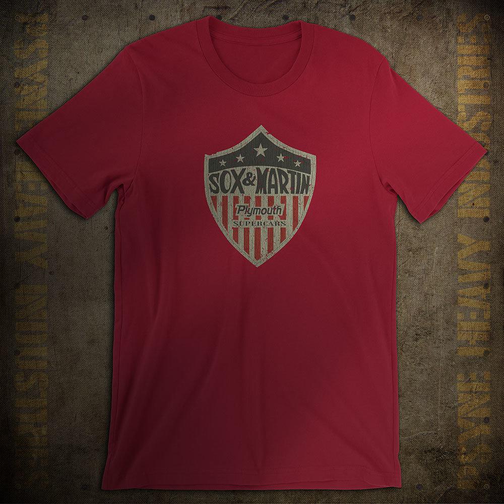 Sox & Martin Drag Racing Vintage T-Shirt