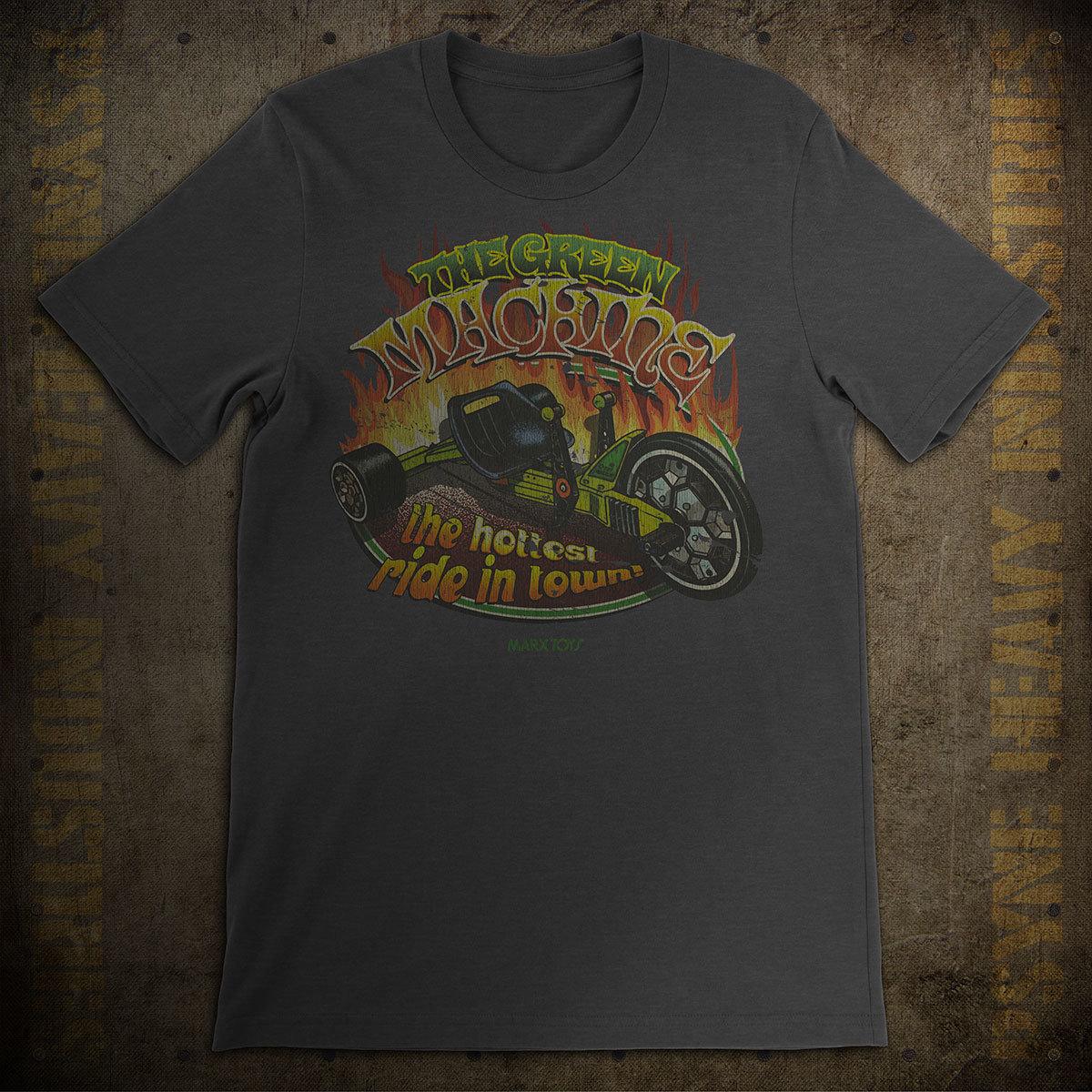 Green Machine Vintage T-Shirt