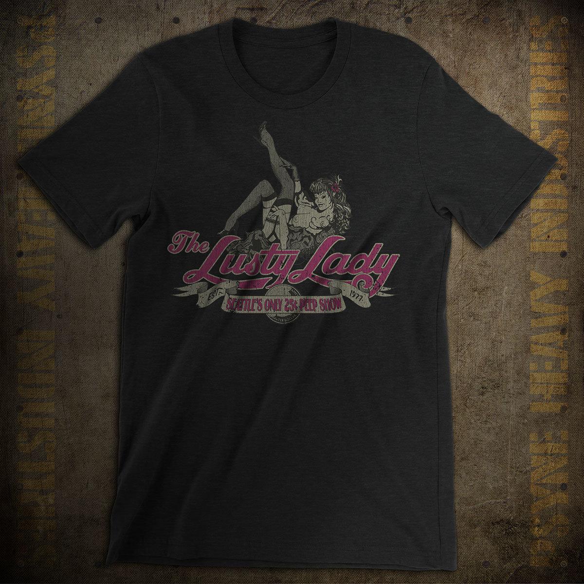 Lusty Lady Seattle Vintage T-Shirt