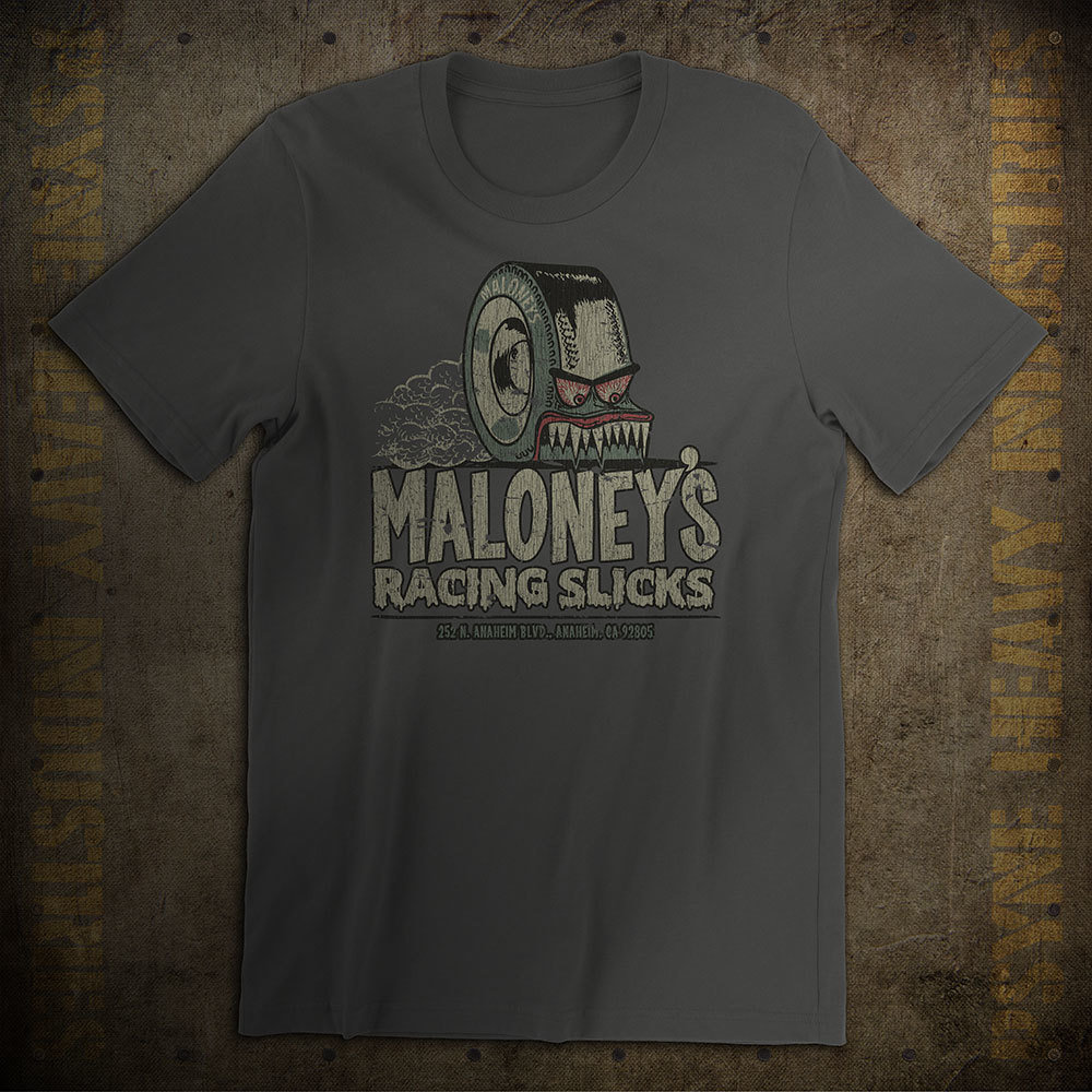 Maloney's Racing Slicks Vintage T-shirt