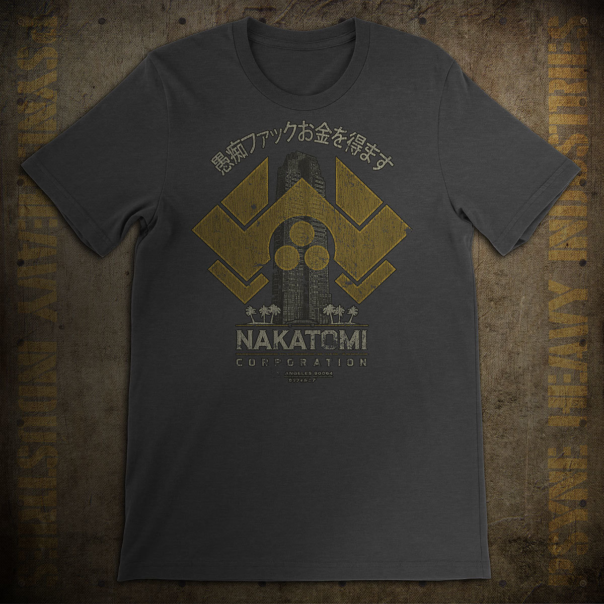 Nakatomi Corporation Vintage Die Hard T-Shirt
