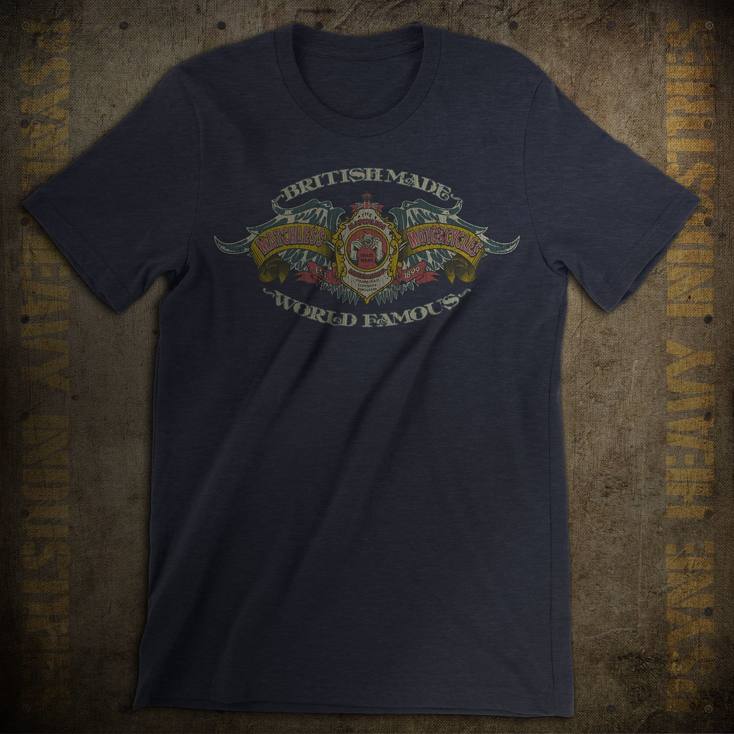 Matchless Motorcycles World Famous Vintage T-Shirt
