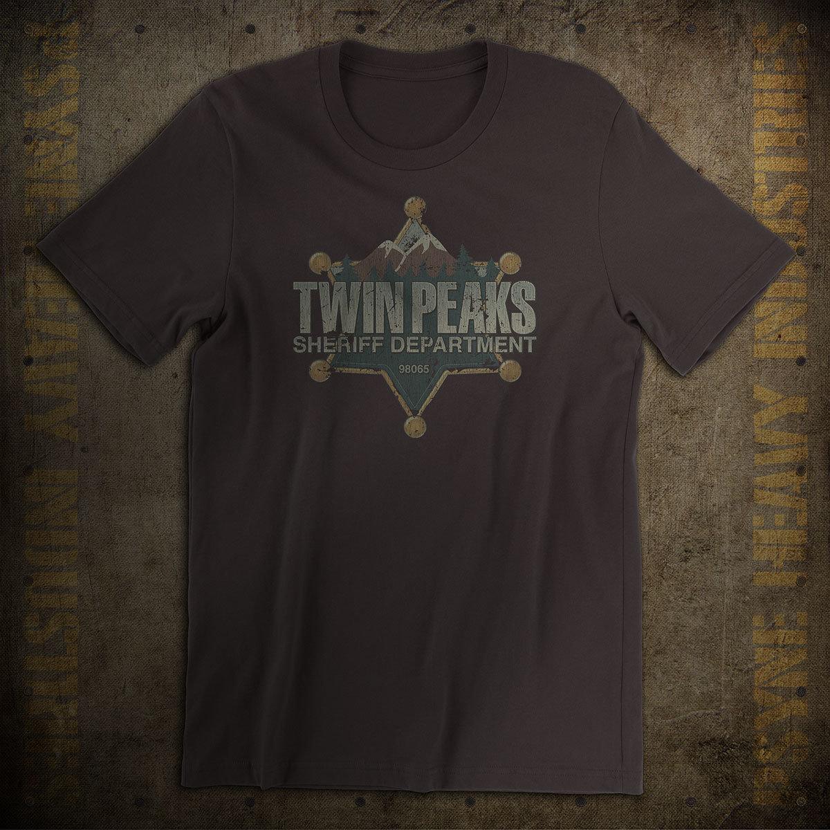 Twin Peaks Sheriff Department Vintage T-Shirt