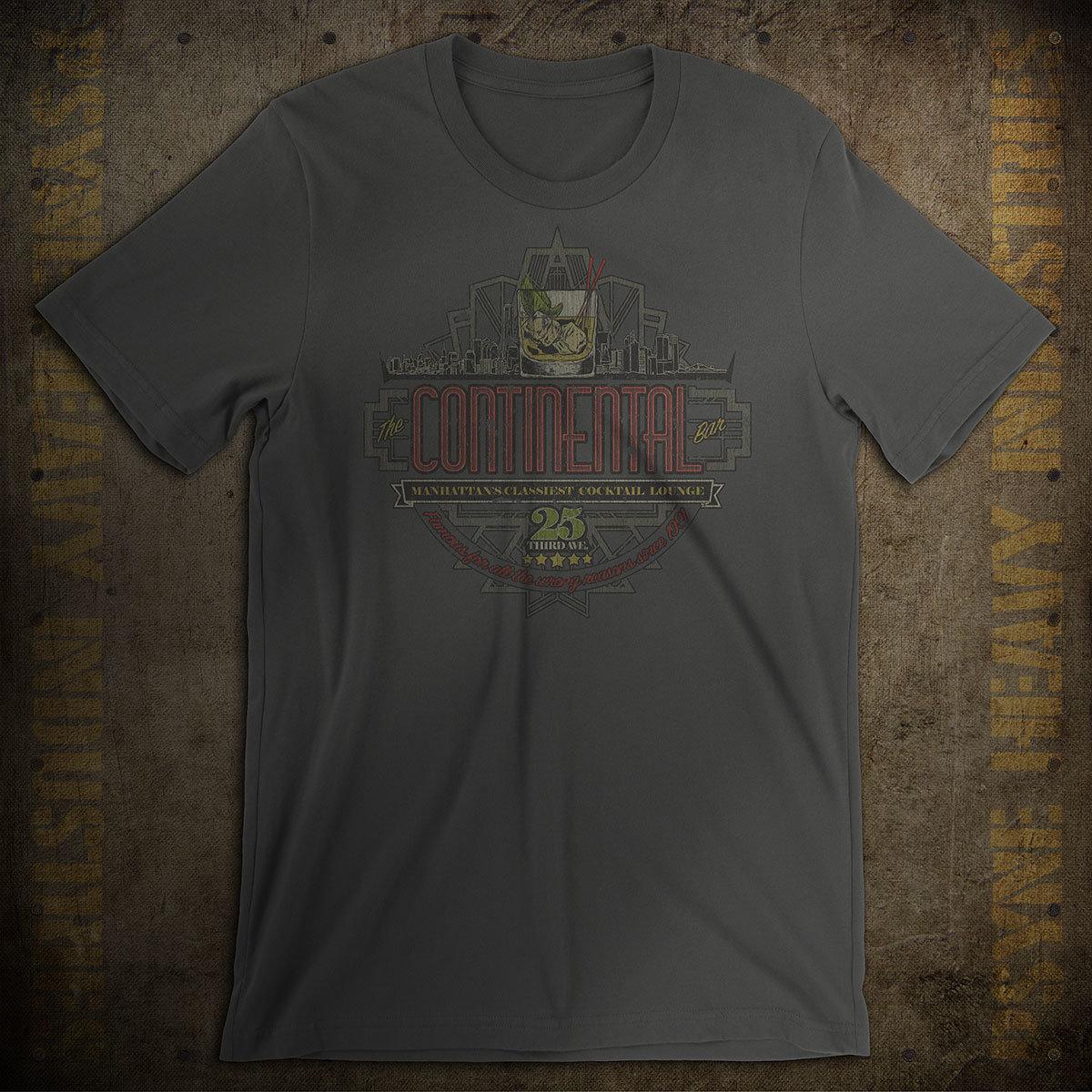 The Continental Bar New York City Vintage T-Shirt