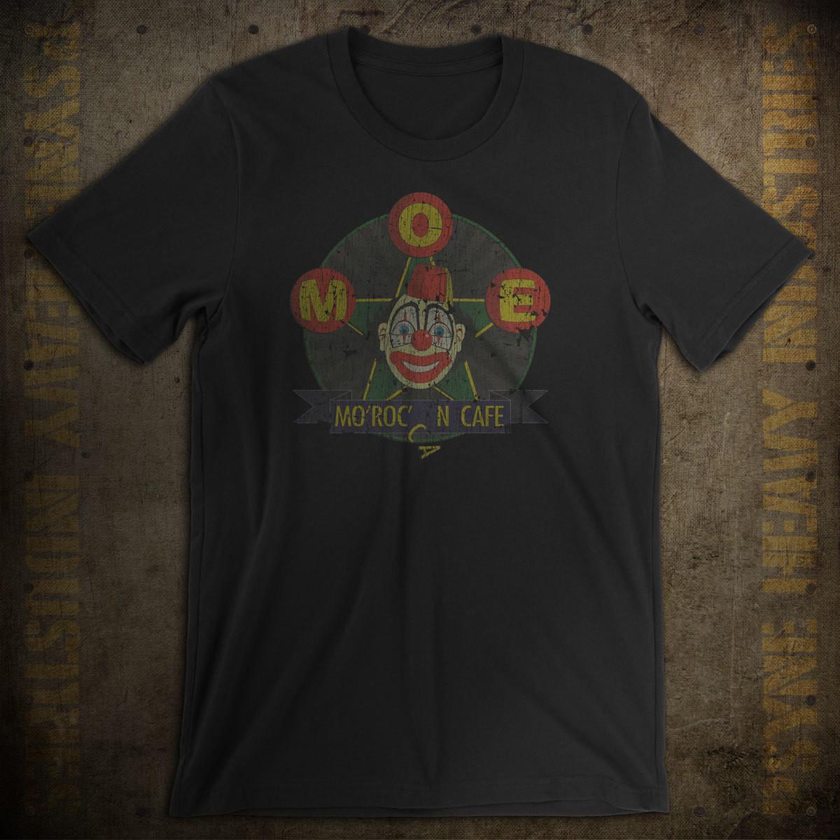 Moe's Mo'Roc'N Café Vintage Seattle T-Shirt