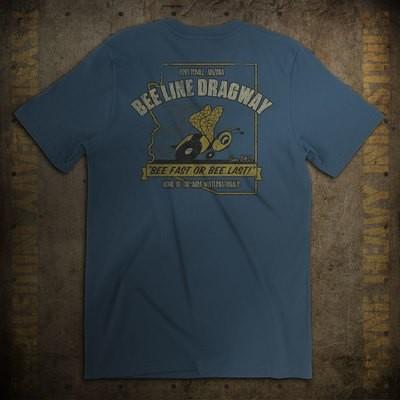 Bee Line Dragway Vintage Arizona Drag Racing F/B T-Shirt