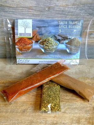 TASTE TRAVELS VARIETY 3-PACK (free shipping)
