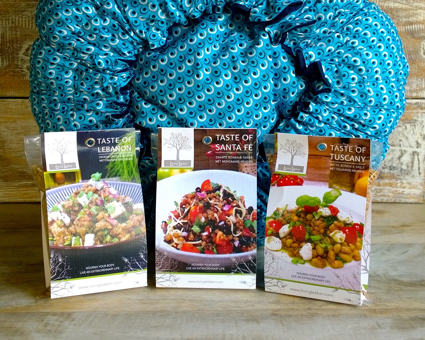 Wonderbag & Taste Travels Bundle: 1 Wonderbag and 3 Superfood kits (€71,00 value)