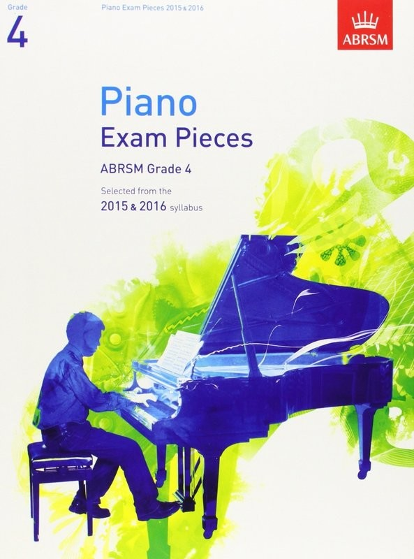 ABRSM Piano Pieces Grade 4 Book