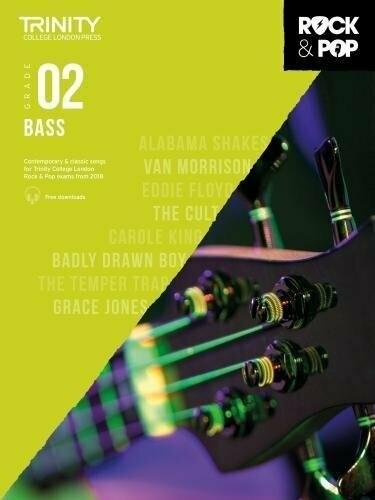 Trinity Rock & Pop Bass Grade 2 Book