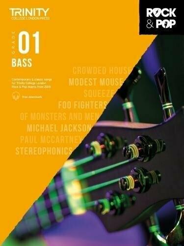 Trinity Rock & Pop Bass Grade 1 Book