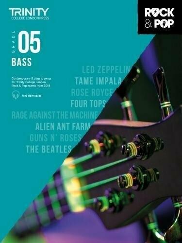 Trinity Rock & Pop Bass Grade 5 Book