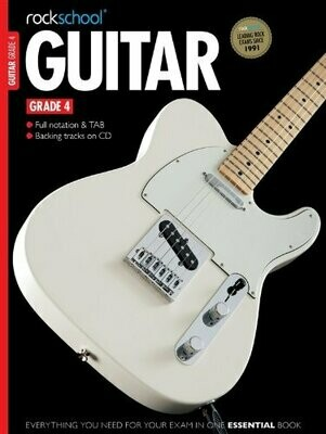 RSL Guitar Grade 4 Book
