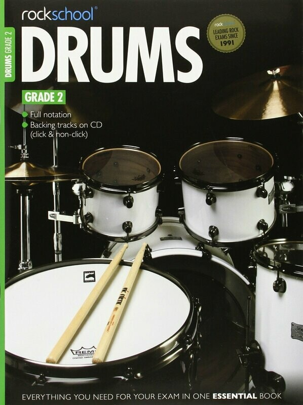 RSL Drums Grade 2 Book