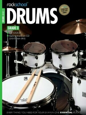 RSL Drums Grade 3 Book