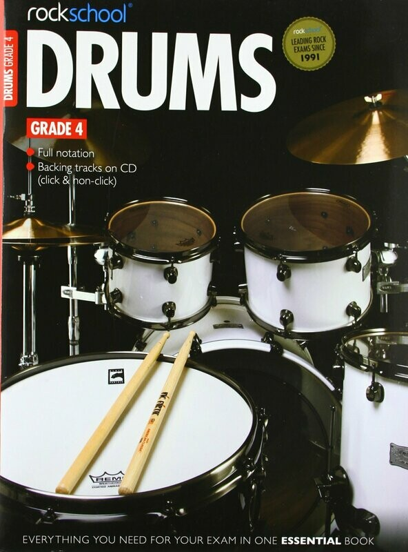 RSL Drums Grade 4 Book