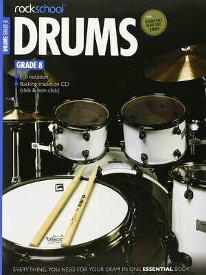 RSL Drums Grade 8 Book