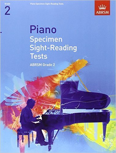 ABRSM Piano Sight Reading Grade 2 Book