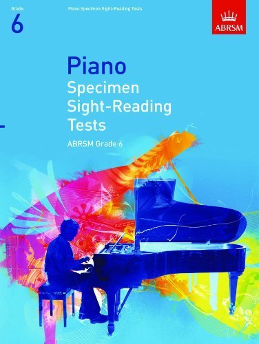 ABRSM Piano Sight Reading Grade 6 Book