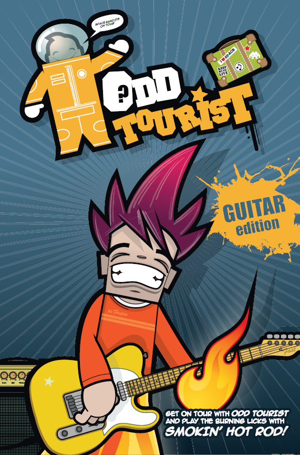 Odd Tourist Guitar Band Book