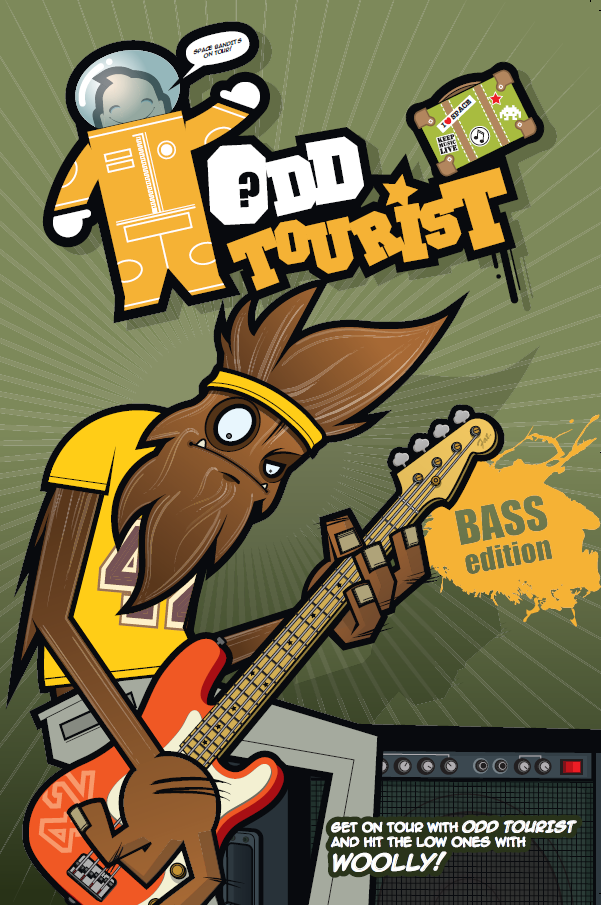 Odd Tourist Bass Band Book