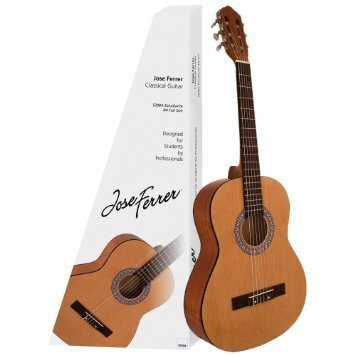 Junior 3/4 Size Classical Guitar (with carry case)