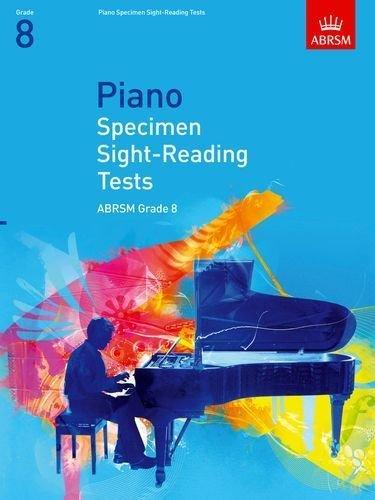 ABRSM Piano Sight Reading Grade 8 Book