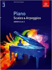 ABRSM Piano Arpeggios and Scales Grade 3 Book