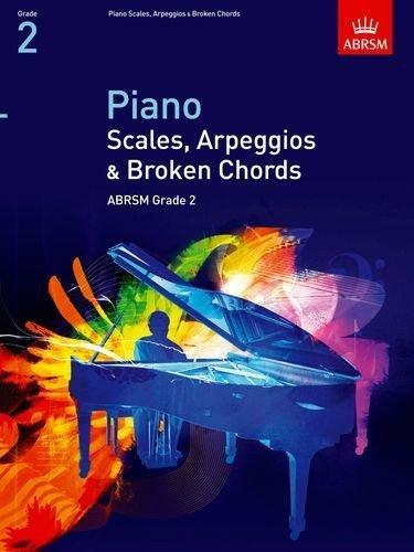 ABRSM Piano Scales, Arpeggios and Broken Chords Grade 2 Book