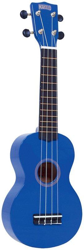 Mahalo Ukulele (Blue)