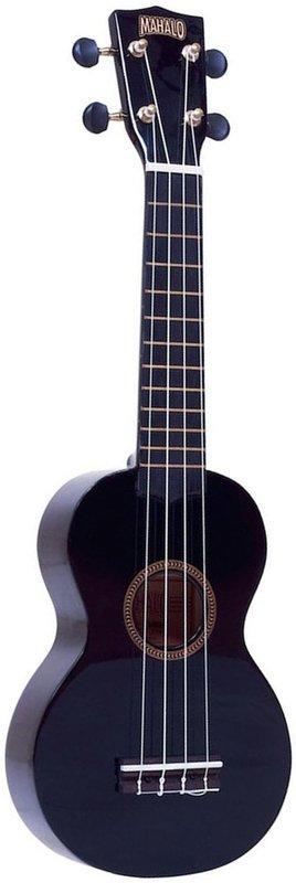 Mahalo Ukulele (Black)