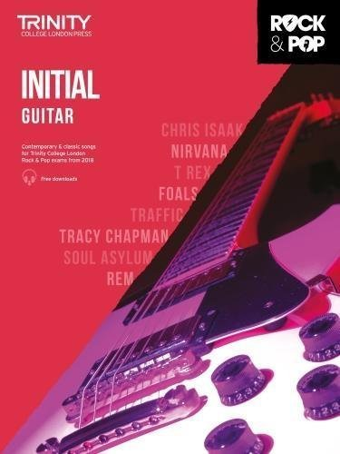 Trinity Rock & Pop Guitar Inital Grade Book