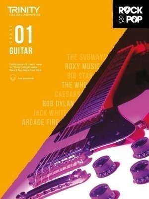 Trinity Rock & Pop Guitar Grade 1 Book