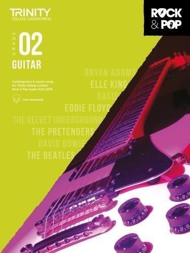 Trinity Rock & Pop Guitar Grade 2 Book