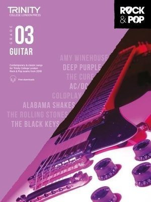 Trinity Rock & Pop Guitar Grade 3 Book