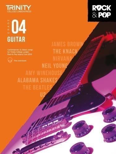 Trinity Rock & Pop Guitar Grade 4 Book