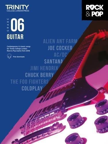 Trinity Rock & Pop Guitar Grade 6 Book