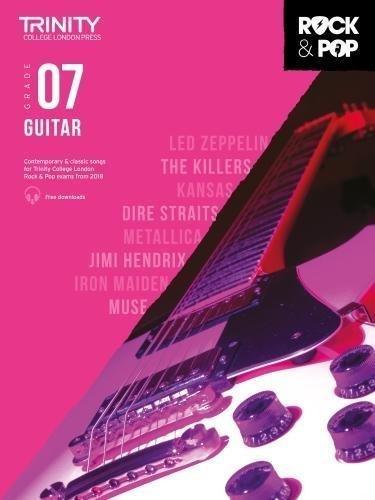 Trinity Rock & Pop Guitar Grade 7 Book