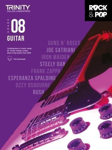 Trinity Rock & Pop Guitar Grade 8 Book