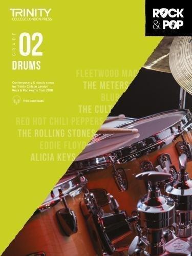Trinity Rock & Pop Drums Grade 2 Book