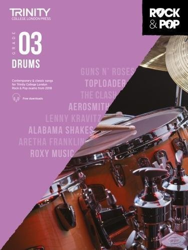 Trinity Rock & Pop Drums Grade 3 Book