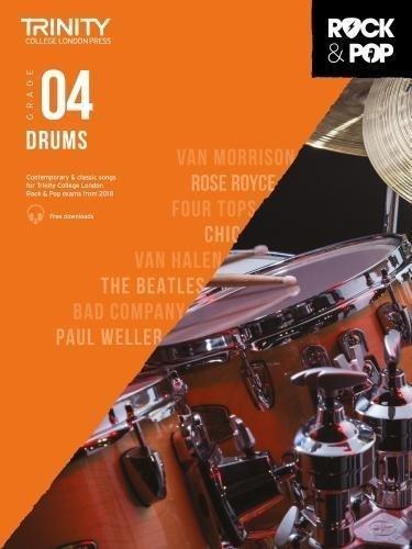 Trinity Rock & Pop Drums Grade 4 Book
