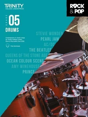Trinity Rock & Pop Drums Grade 5 Book