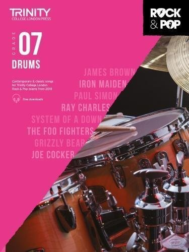 Trinity Rock & Pop Drums Grade 7 Book