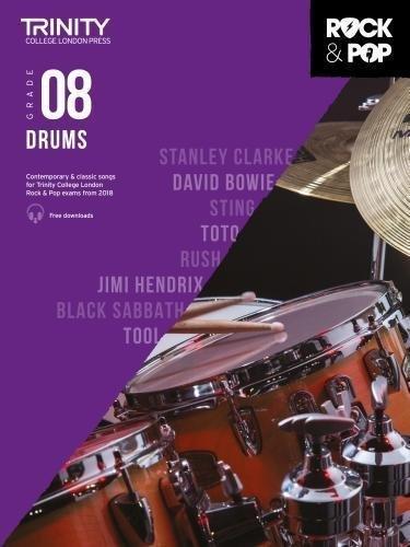 Trinity Rock & Pop Drums Grade 8 Book