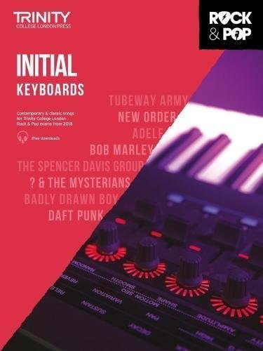Trinity Rock & Pop Keyboard Inital Grade Book